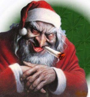 Jultomten är ond. Bad santa.