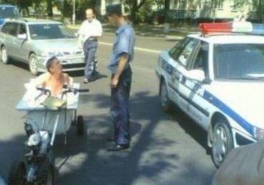 Vissa fordon i trafiken är rena skämtet för poliserna.
